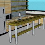 kitchen table round legs